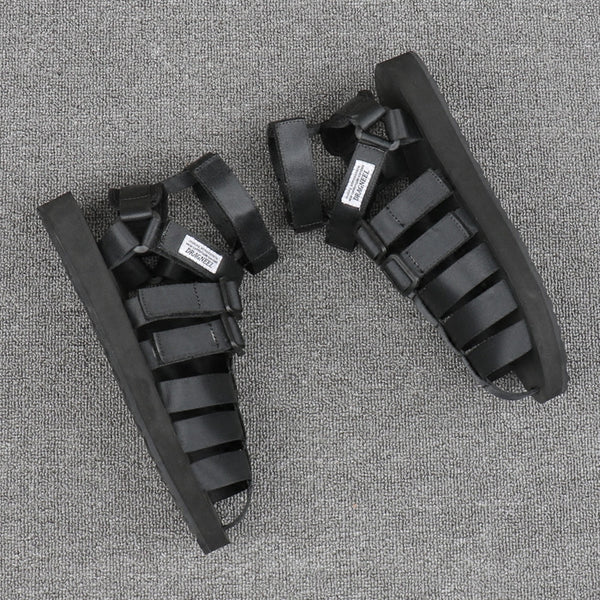 Baotou Couple Roman Beach Sandals for Men and Women