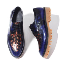 Retro Skull Breathable Leather Platform Shoes