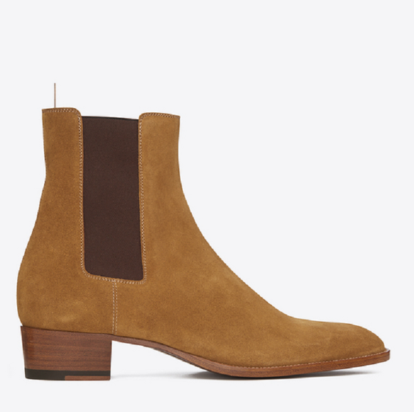 British Simple High Chelsea Boots