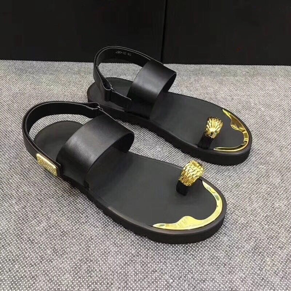 Luxury Metal Rivet Roman Sandals  3799289214900 3799289214901 3799289214896 3799289214897 3799289214898 3799289214899 3799289214894 3799289214895
