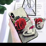 Mobile Phone Case + Lanyard for Apple iPhone X