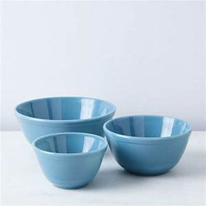 Set of 3 Glass Nesting Bowls