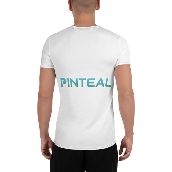 All-Over Print Men's Athletic T-shirt - Pinteal