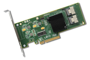 LSI SAS 9211-8i 8-Port 6Gb/s SAS SATA Host Bus Adapter. IT Mode.