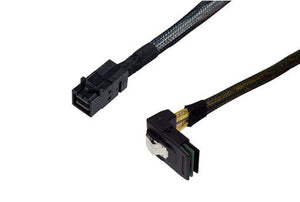 TMC I3536-1M-RA1 Internal HD Mini SAS (SFF-8643) - R/A Mini SAS 36 (SFF-8087), Premium, 1M, 1 Right Angle.