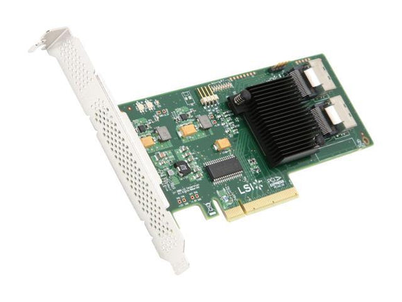 IT Mode LSI SAS 9211-8i 6Gb/s SAS SATA RAID HBA Adapter PCI-E 8 Port