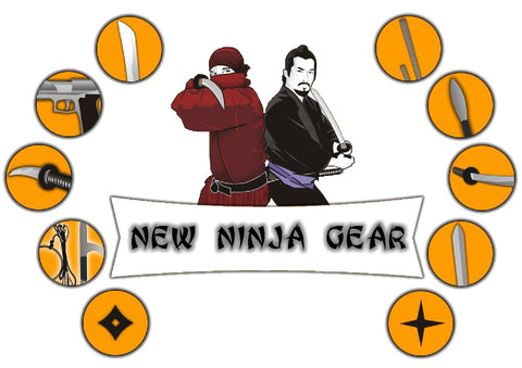 New Ninja Gear at Shinobi Gear, Inc.