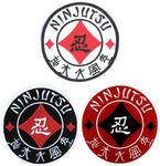 Nin-Five Elements of Sanshin Kanji Patch. Perfect for Ninjutsu, Budo Taijutsu and Ninpo!