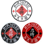 Ninjutsu-Five Elements of Sanshin Kanji Patch. Perfect for Ninjutsu, Budo Taijutsu and Ninpo!