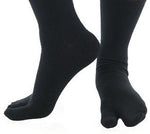Ninja Black Athletic Tabi Socks. Perfect for Ninjutsu, Budo Taijutsu and Ninpo!