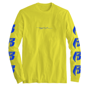 Logo Yellow Long Sleeve - Ruff Ryders