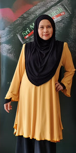 "Tunic ""The Brand"" ~ Yellow"