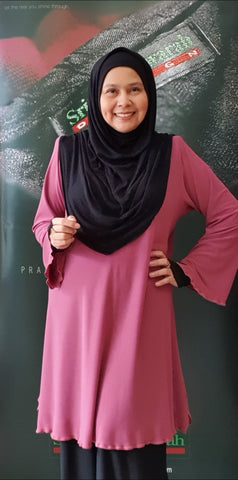 "Tunic ""The Brand"" ~ Rose Pink"