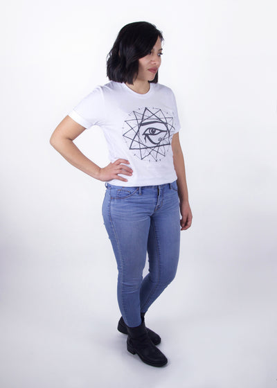 Starseed Graphic Tee - White