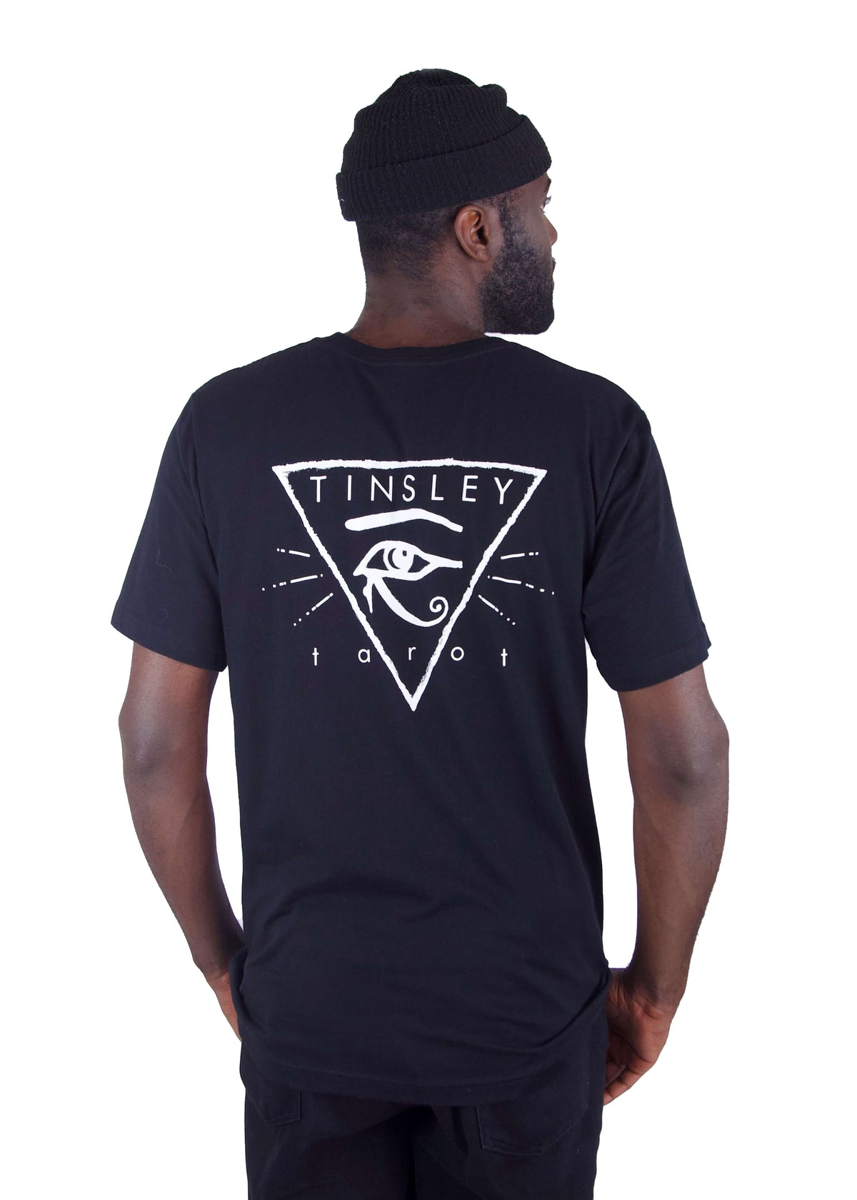 Eye of Horus Graphic Tee - Black