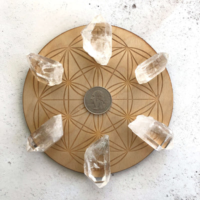 Chakra Healing Clear Quartz Points