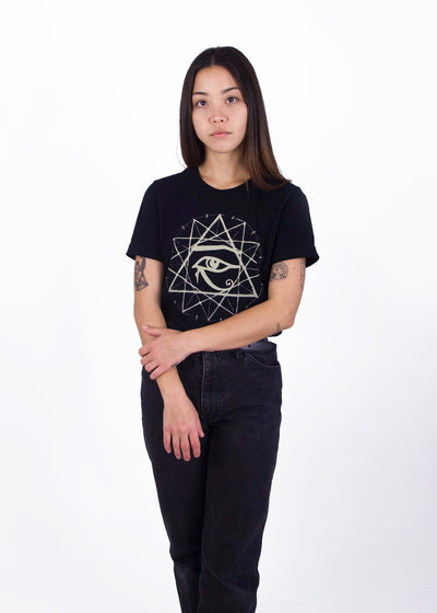 Starseed Graphic Tee - Black