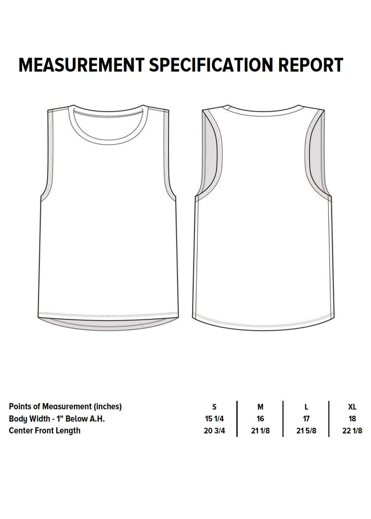 Grey Heather 12-Point Star Tank