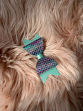 Mint Mermaid Bow (Medium)