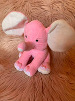 Elephant Plush Baby Announcement