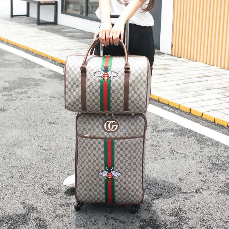 Gucci Design Rolling Luggage