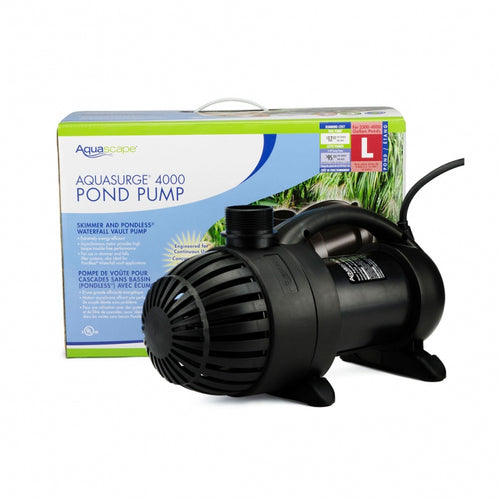 Aqauscape Aquasurge 4000 pond pump