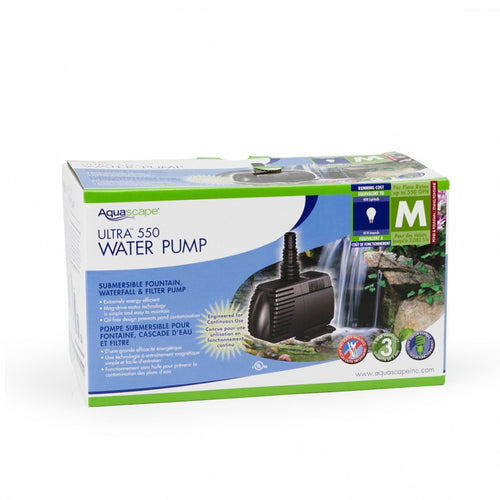 Aquascape 550 GPH Ultra Water Pump