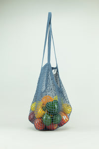ECOBAGS String Bag - Storm Blue