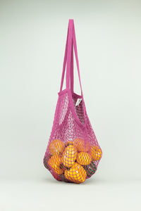 ECOBAGS String Bag - Cranberry