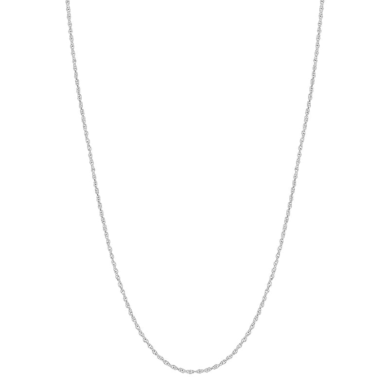925 Sterling Silver Thin 1mm Twisted Rope Link Chain