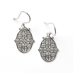 Biltmore® Fleur-De-Lis Earrings