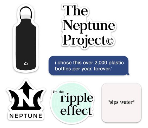 Neptune Project Sticker Pack