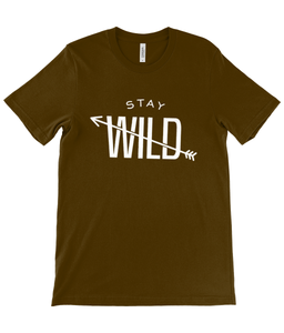 T-Shirt Stay Wild - Be More Wild