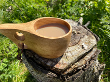 Load image into Gallery viewer, Be More Wild - Wooden Kuksa - Be More Wild