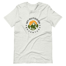 Load image into Gallery viewer, My Outdoor Adventure Short-Sleeve Unisex T-Shirt - Be More Wild