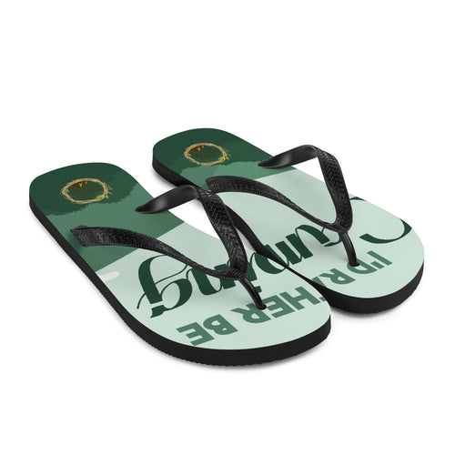 I'd Rather Be Camping Unisex Flip-Flops - Be More Wild