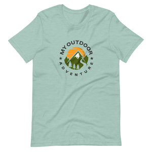 My Outdoor Adventure Short-Sleeve Unisex T-Shirt - Be More Wild