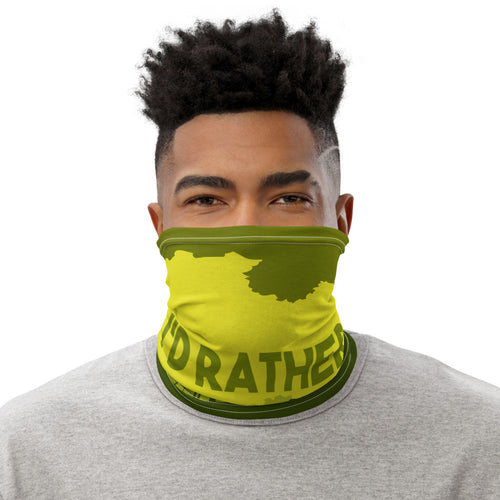 I'd Rather Be Hunting Mens Neck Gaiter - Be More Wild
