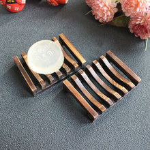 Load image into Gallery viewer, Bamboo Wooden Soap Dish - Be More Wild