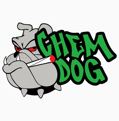 Chemdog Glass Art - Large Hammer #0008
