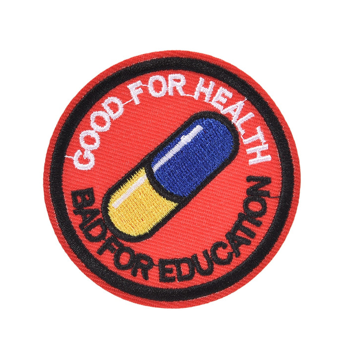 AKIRA Good for Health, Bad for Education Iron Patch - Wrathworks