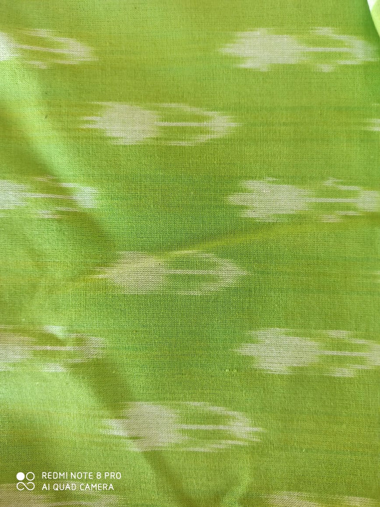 FM01_Ikat Green Fabric