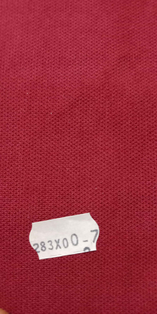 FM01_100% polyester Red Solid Fabric