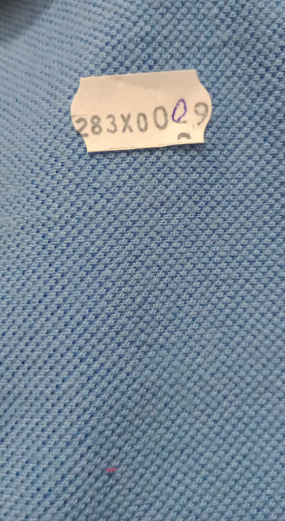 FM01_100% polyester Cyan Solid Fabric