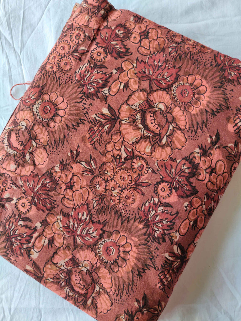 FM01_Cotton 60*60 cambric Red Prints Fabric