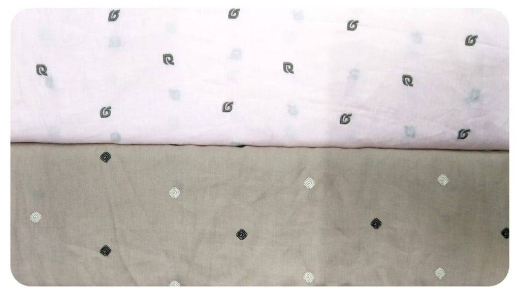 FM01_100% pure linen and 100% cotton  Fabric