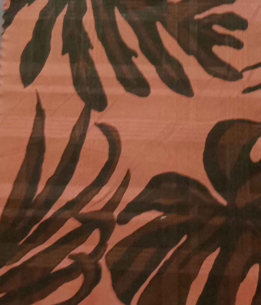 FM01_100% cotton Orange Prints Fabric