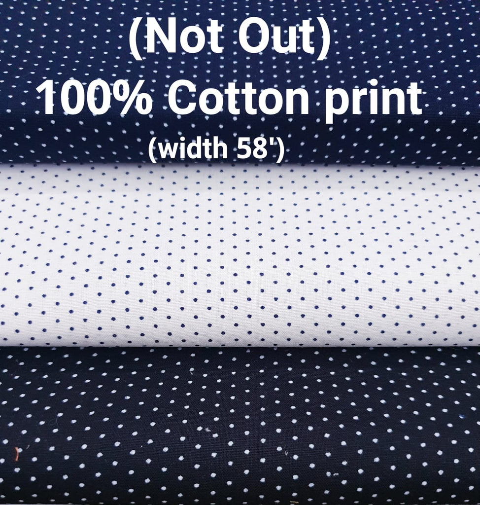 FM01_100% cotton ,rangeela patta,dolphin dobby , bugatti yarn dyed Blue Fabric