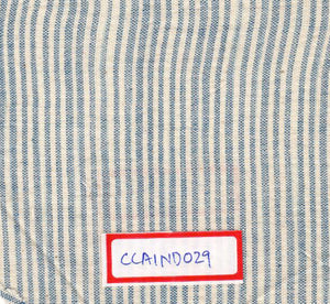 Blue And White 100% Cotton Natural Dye Fabric