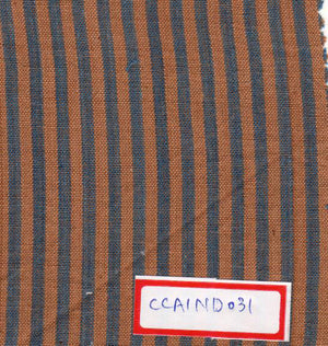 Brown And Grey 100% Cotton Natural Dye Fabric